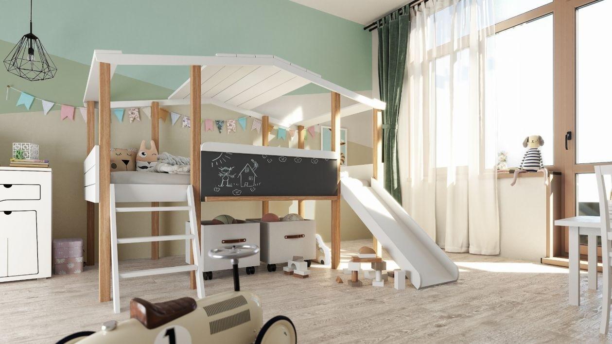 Łóżko domek Cory