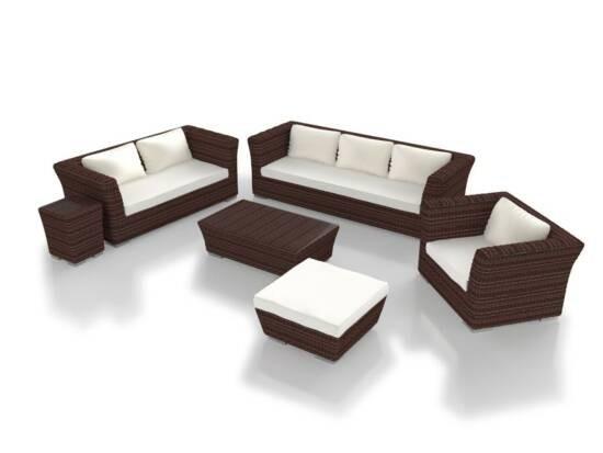 Zestaw wypoczynkowy na taras Rigantona + fotel Rondino V365
